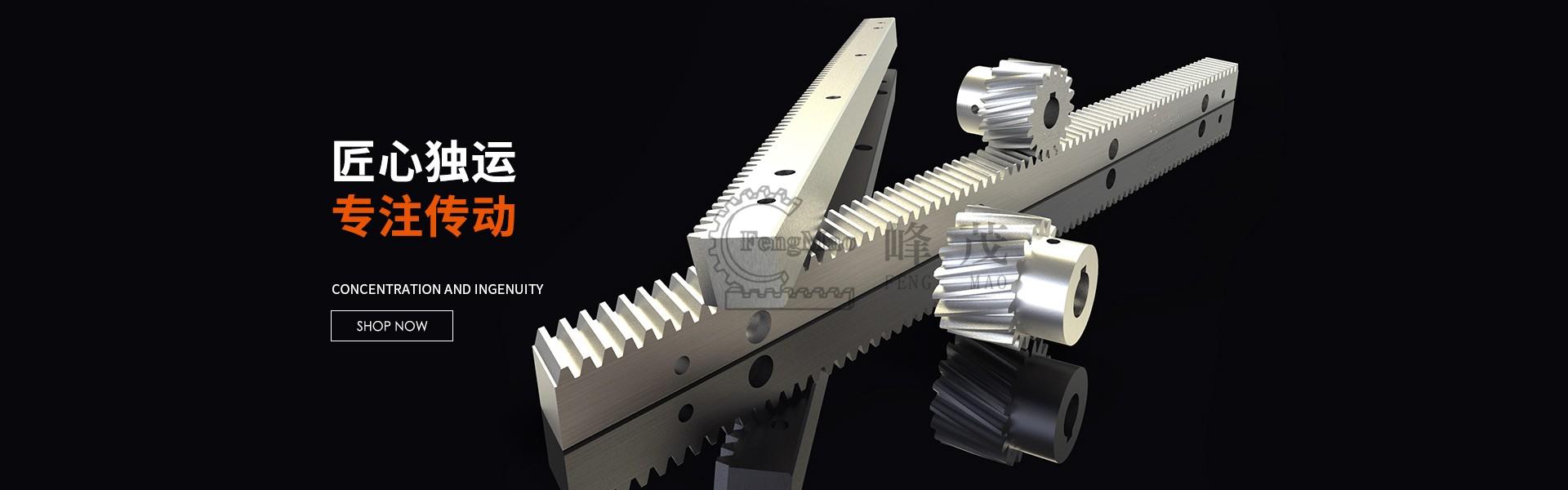 高精密齿轮齿条加工厂家,台湾进口品牌