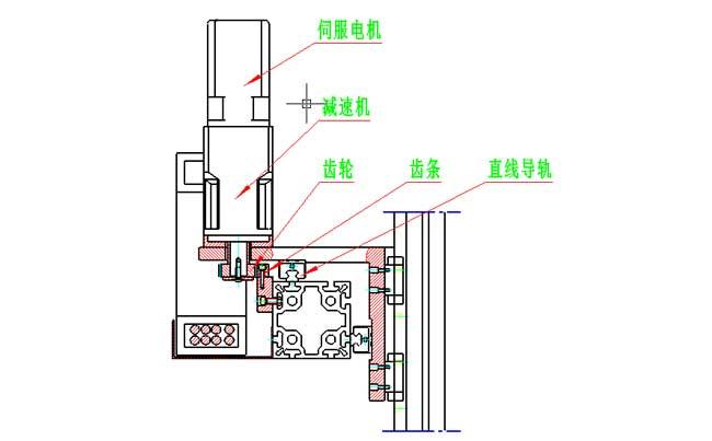 齿轮齿条在自动生产线机械手驱动装置中的应用