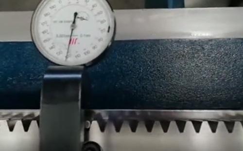 高平行精度齿条在高端激光切割机中的应用
