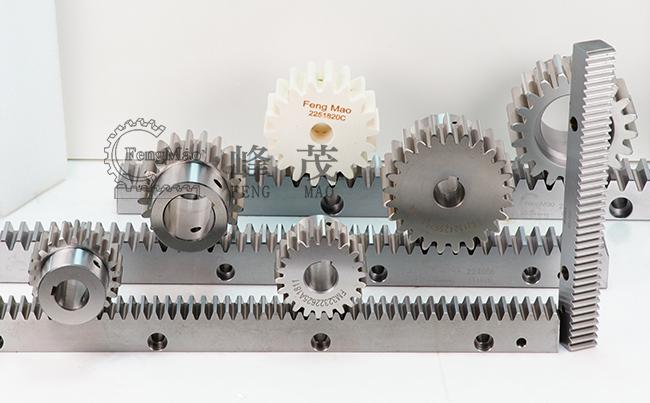 齿条和小齿轮以及滚珠丝杠轴的特点说明