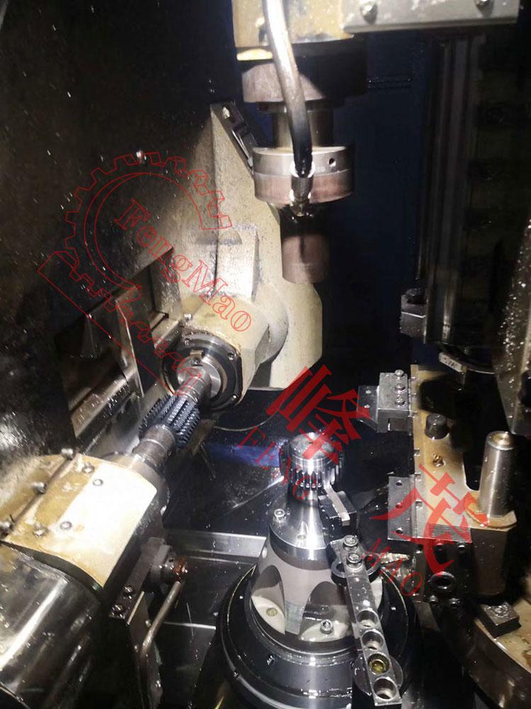 KN95口罩机齿轮生产