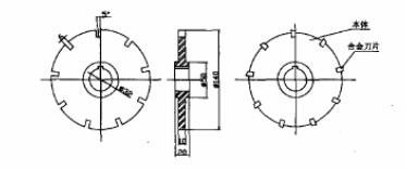 成形盘形齿轮铣刀