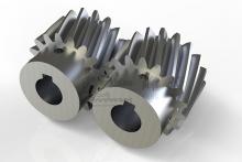 精密研磨斜齿轮(模数1.5)